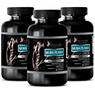 Energy Supplements for Men - Muira PUAMA Extract 2200Mg - Male Enhancement - Energy Boost - 3 Bottles (270 Capsules)