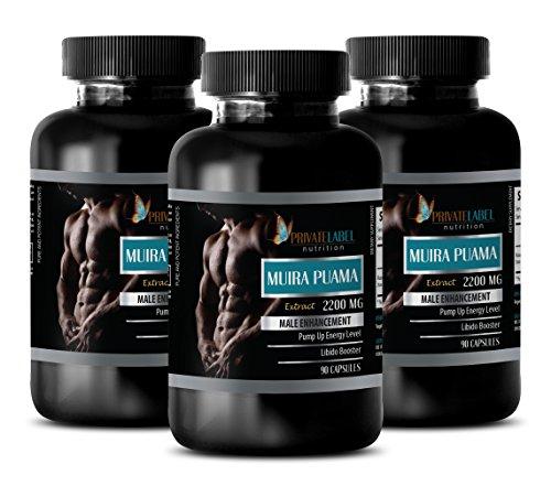 libido max for men - MUIRA PUAMA EXTRACT 2200Mg - MALE ENHANCEMENT - muira puama extract powder - 3 Bottles (270 (Max Heart Rate Test)