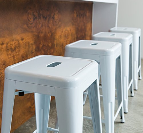 Urbanmod 24 Inch Bar Stools For Kitchen Counter Height