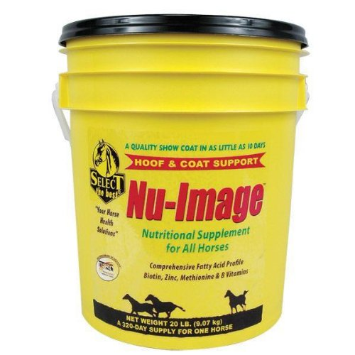 Nu-Image Hoof & Coat Support For Horses (Palatable Zinc Supplement)