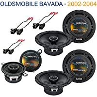 Oldsmobile Bravada 2002-2004 OEM Speaker Upgrade Harmony Speakers Package New