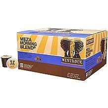 Westrock Coffee Company Meza Morning Blend Best Medium Roast Gourmet Single Serve Cup 80 Count