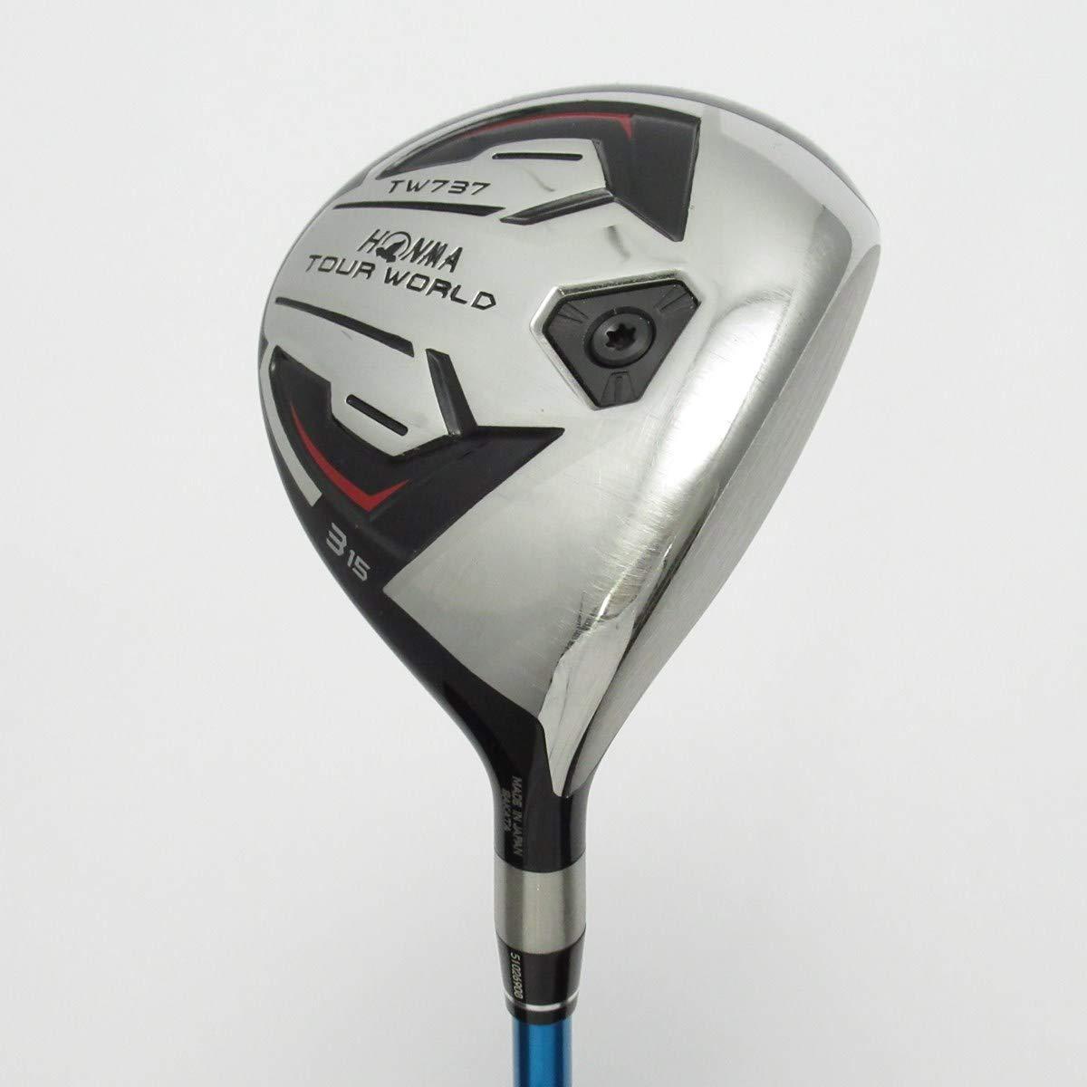 【中古】本間ゴルフ TOUR WORLD ツアーワールド TW737 フェアウェイウッド VIZARD EX-Z65 【3W】 B07NM5D5ML  S