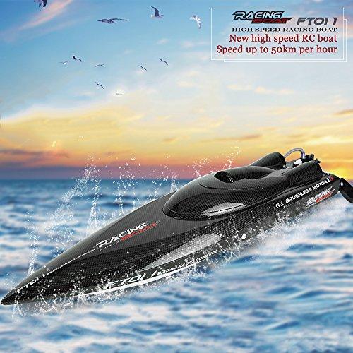 SmartLife FT011 2.4G RC Boot Brushless High Speed Motor Wasserkühlsystem, 50km/h