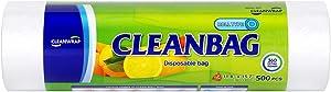 "Food Storage ROLL BAG 11.81""15.74""500pcs, HDPE, BPA FREE, Clean Bag, Food handing, Safe,"