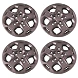 ford 17 hubcaps - Set of 4 Silver 17 Inch Ford Fusion 5 Spoke Hubcap Wheel Covers w/ Push On Retention System - Aftermarket: IWC457/17S