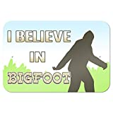 "I Brake for Bigfoot - Sasquatch 9"" x 6"" Metal Sign"