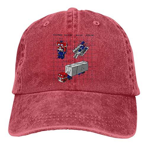 Optimus Prime Toy Patent Summer Cool Heat Shield Unisex Adult Cowboy Hat ()