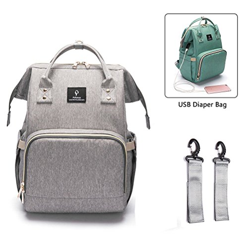 Nappy Changing Backpack with USB Charging Port bb5db1a98b403