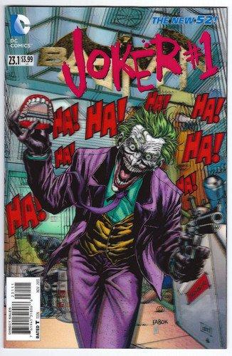 Batman 23 1 3d Joker Cover Comic Book
