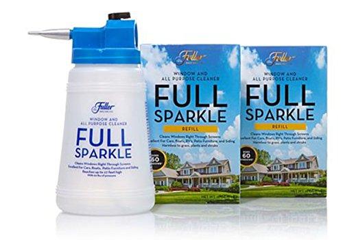 Fuller Brush Co. Full Sparkle Window Cleaner & All ~Purpose Kit by Fuller Brush