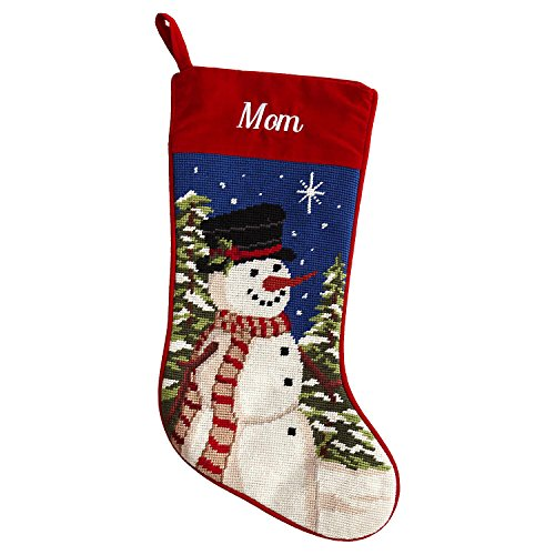 Personalized Needlepoint Christmas Stocking - 8 Designs - Custom Gifts - 17