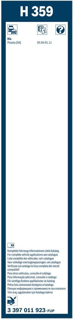 BOSCH Wischblatt 3 397 011 923 für KIA