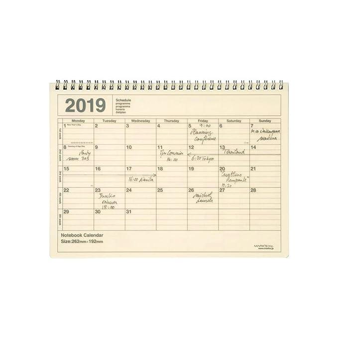 Agenda planificadora 2019 / Inicio de enero de 2018 ...