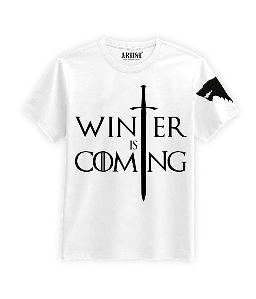T-Shirt Winter is Coming 2 Stark Game of Thrones