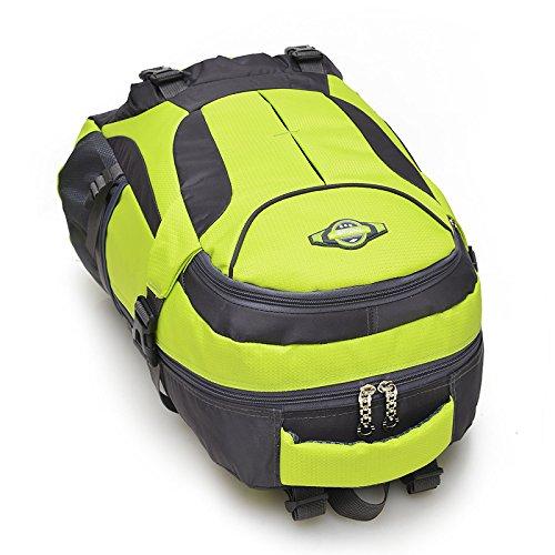 HCLHWYDHCLHWYD-bolso del alpinismo del hombro del bolso de las mujeres y los hombres al aire libre del alpinismo mochila de gran capacidad mochila de viaje bolsa , 1 4