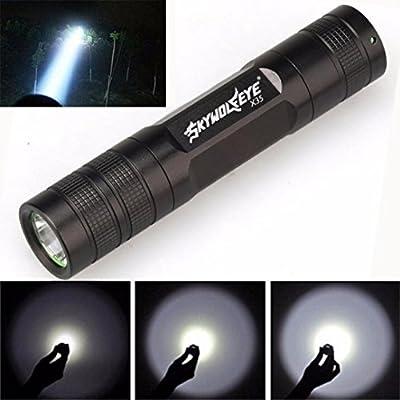 Iuhan Fashion Mini 3500 Lumen 3 Modes XML T6 LED 18650 Flashlight Torch Lamp Light