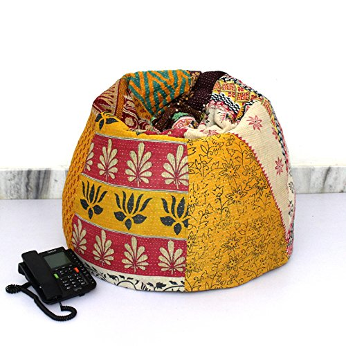 Embroidered Bean Bag Chairs - 9