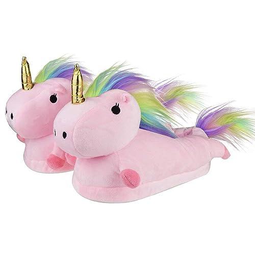 c682dde956 CARRY TRIP Cute Cartoon Unicorn Slippers