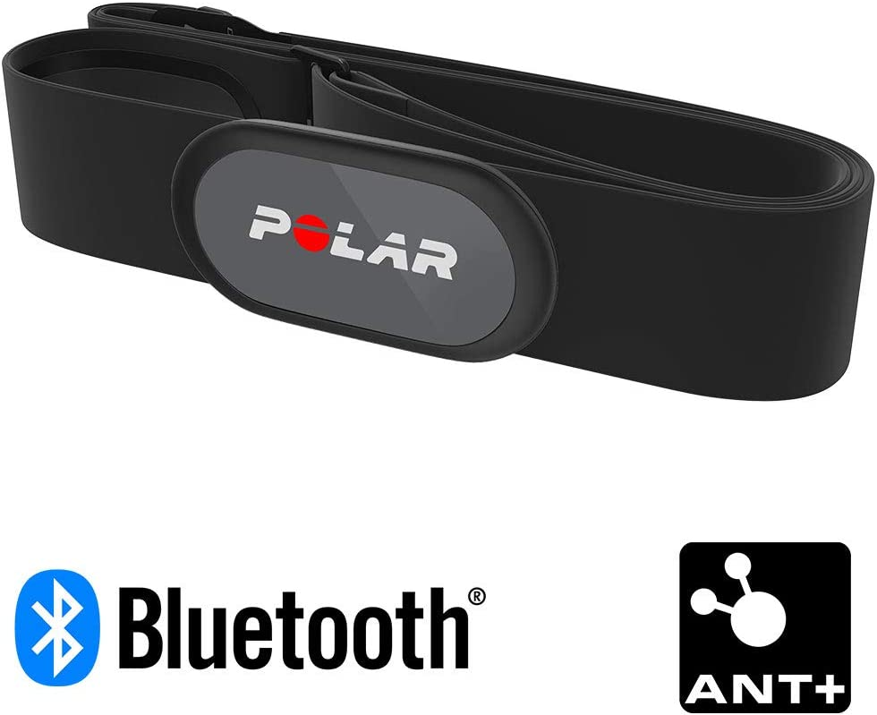 Polar H9 Heart Rate Sensor – ANT + / Bluetooth - Waterproof HR Monitor with Soft Chest Strap for Gym, Cycling, Running, Outdoor Sports