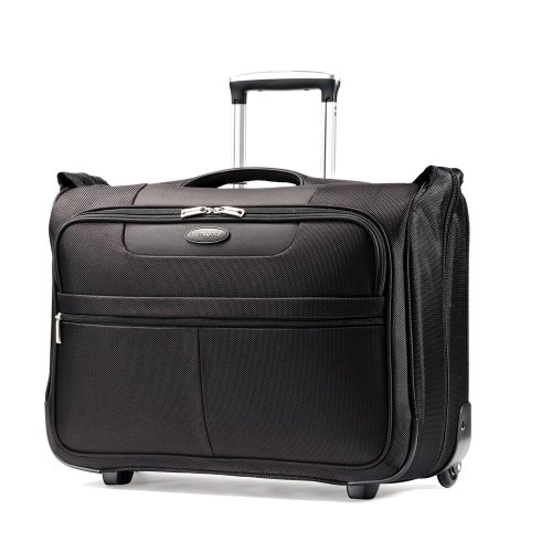 Samsonite Luggage L.i.f.t. Carry-On Wheeled Garment Bag, Black, 21'' by Samsonite