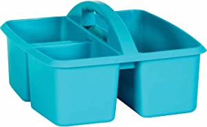 Teacher Created Resources Teal Plastic Storage Caddy