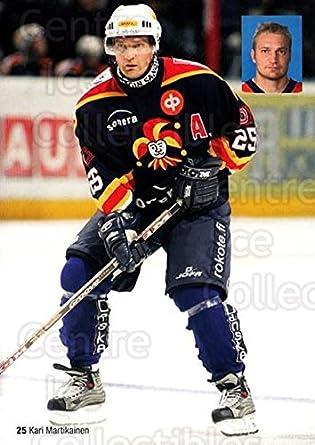 Amazon Com Ci Kari Martikainen Hockey Card 2005 06 Finnish