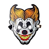 FREAHAP R Sound Reactive Glowing Mask Led Mask Fancy Costume Mask for Holloween Party Dancing #4