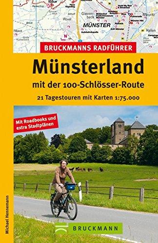 Bruckmanns Radführer Münsterland mit der 100-Schlösser-Route