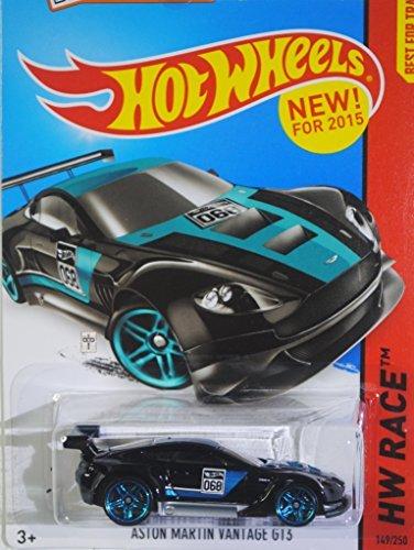 Hot Wheels 2015 HW Race, Aston Martin Vantage GT3 149/250, Black