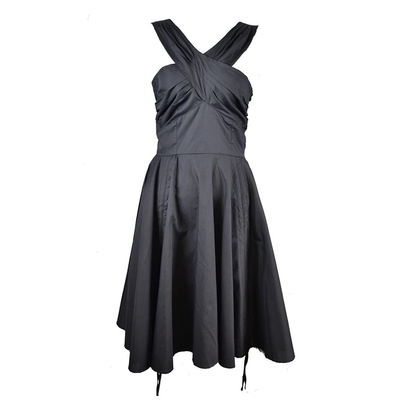Vixxsin Jennie Dress Ladies Black Goth Emo Official License