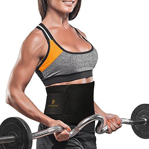 Perfotek Waist Trimmer Belt Weight Loss Wrap Stomach Fat