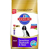 Hill's Science Diet Canine Adult Sensitive Stomach & Skin Dry Food 13.6kg/30-Pound Bag