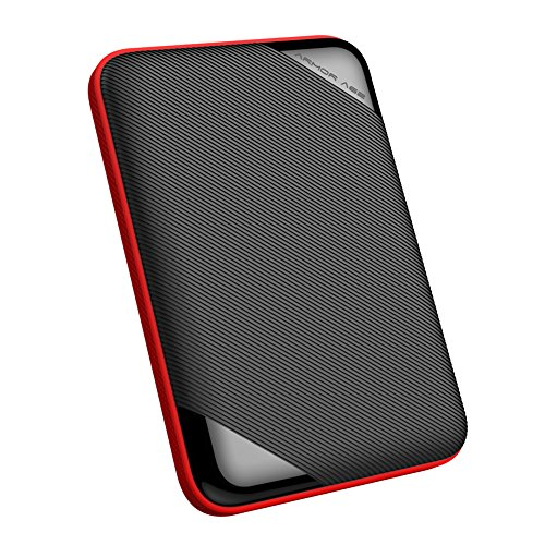 Silicon Power 5TB Ultra Slim Rugged Armor A62L Shockproof/ IPX4 Water-resistant USB 3.0 2.5'' Portable External Hard Drive (PS4 Xbox Compatible) by Silicon Power