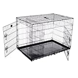 Cheap Pet Trex 2303 PT2303 42 Inch Pet Crate Folding Pet Crate Kennel for Dogs, Cats or Rabbits, 42″
