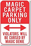 Magic Carpet Parking Only - NEW Humor Poster offers