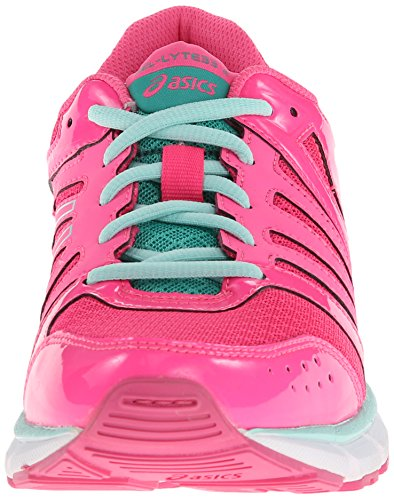 Shoes Asics Gs Hot Emerald Pink Ice Kids 2 Lyte33 Blue Gel Running axYIa1r
