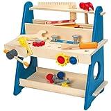 Hape My Handy Workshop Kid's Wooden Tool Box Set (Amazon Exclusive)