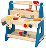 Best HaPe Toys For 2 Year Old Boy Woodens - Hape My Handy Workshop Kid's Wooden Tool Box Review
