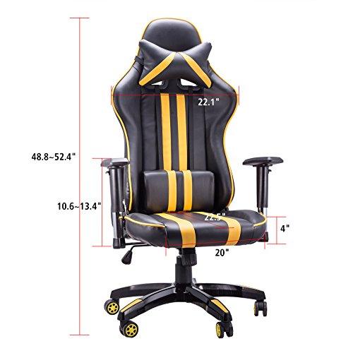 CO-Z Pro Wide Seat Cushion Ergonomic Adults High Back ...