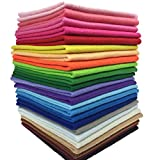flic-flac 24pcs Thick 1.4mm Soft Felt Fabric Sheet