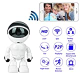 Best unknown Video Cameras - HD 1080P Wireless WIFI Spy Cameras Robot Review