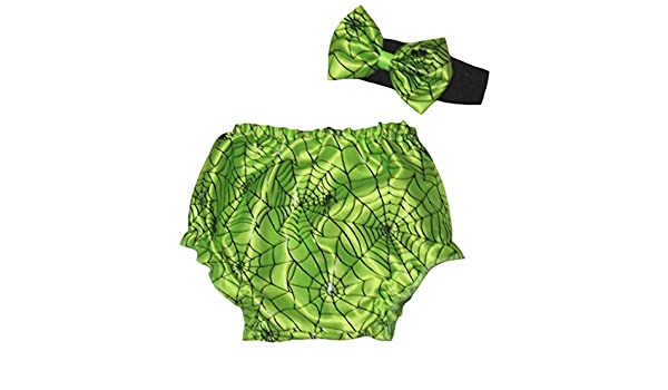 Leaf Sison Dress Cobweb Green Bloomer Leg Warmer for Baby 3-12m