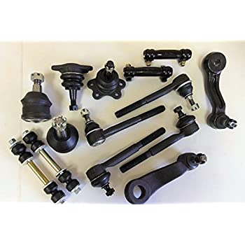2 Pcs Aftermarket Replacements 2 Front Sway Bar Links Right and Left Side
