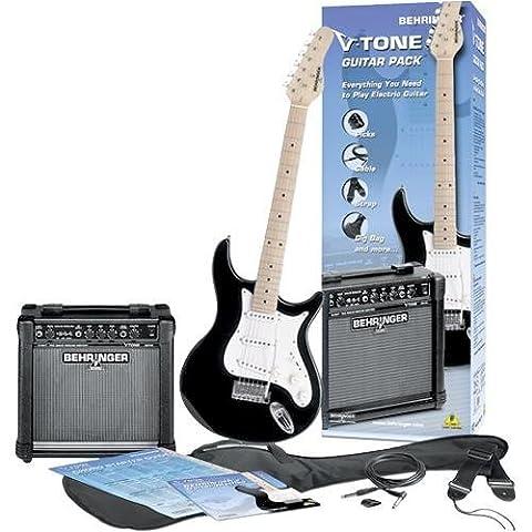 Behringer V-Tone Electric Guitar Package ( Black ) (V Tone Behringer)
