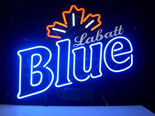 new-labatt-blue-real-glass-neon-light-sign-home-beer-bar-pub-recreation-room-game-room-windows-garag