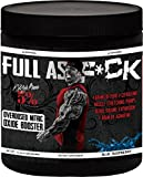 Rich Piana 5% Nutrition FULL AS F*CK Overdosed Nitric Oxide Booster (Blue Raspberry) 12.70oz (360 Grams) 30 Servings Review