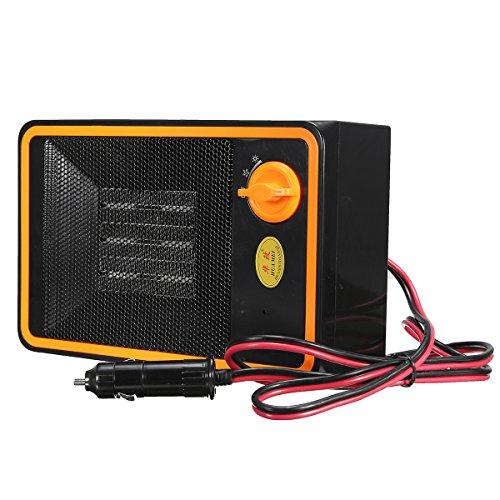 24V 350W Car Adjustable Portable PTC Truck Car Heater Defroster Demister Stove
