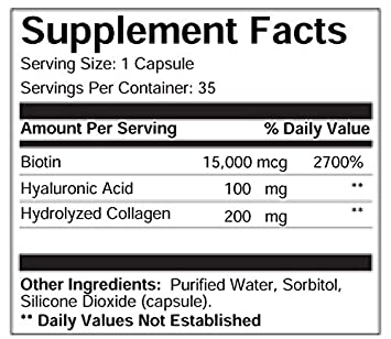 Amazon com: Mediphorm Xtend MAXIMUM STRENGTH BIOTIN, COLLAGEN, AND