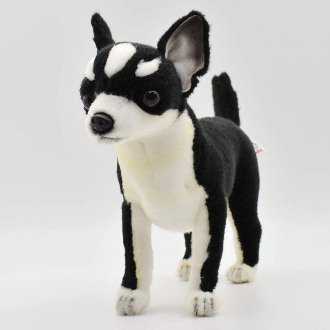 Amazon Com Hansa Chihuahua Plush Black White Toys Games